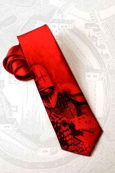 Dark knight inspired men's gothic tie This steampunk by tiestory