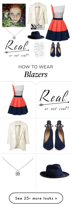 """205-> Real. Or not real?"" by dimibra on Polyvore featuring Lattori, Arteriors, Christian Louboutin, Super Duper and Tiffany & Co."