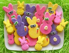 Decorated Peeps Cookies…in Disguise