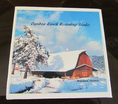 Caribou Ranch Recording Studio Magnet by CoolTilesAndMore