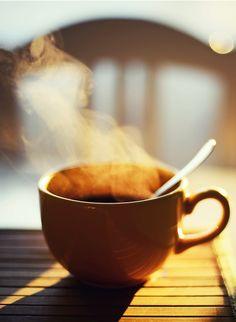 morning coffee, sunrises, beautiful life.