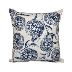 With a woven polyester cover available in taupe, purple, coral, green or navy blue, this handmade accent throw pillow will work perfectly on your sofa, chair or bed. Toss this decorative pillow featuring a floral print on your couch.