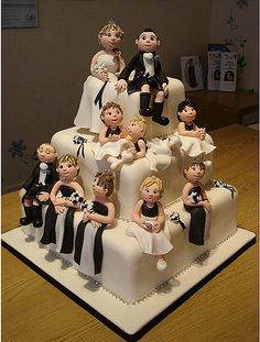 Groom's Cake or Bridal Shower Cake?