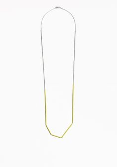 & Other Stories | Angular Bar Necklace