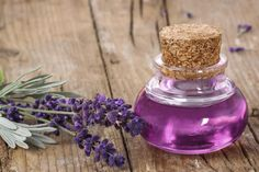 DIY Lavender oil for scars, congestion, antiseptic
