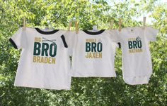 ♥-ABOUT THIS LISTING-♥-------------------------------  Celebrate family with personalized sibling shirts    These