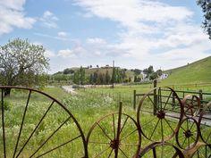 Yenni Ranch Wagon Wheel Fence