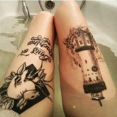 тату татуировка, ink, tattoo, inked,rabbit, lighthouse Deathly Hallows Tattoo, Tattoo Ink, Tattoos, Lighthouse, Rabbit, Bell Rock Lighthouse, Bunny, Tatuajes, Light House