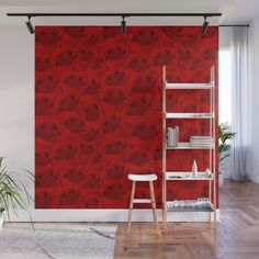 Buy Rose Pattern Wall Mural by letusart. Worldwide shipping available at Society6.com. Just one of millions of high quality products available.