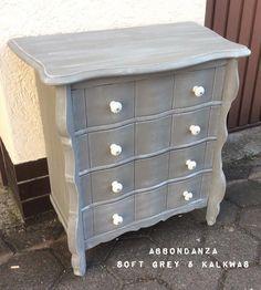 Abbondanza Soft Grey krijtverf & kalkwas