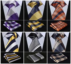 Great styles at amazing prices: Check Floral Stri... See it here! http://zepru.myshopify.com/products/check-floral-striped-dot-3-4-silk-necktie-pocket-square-set?utm_campaign=social_autopilot&utm_source=pin&utm_medium=pin