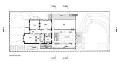 Architecture Design, Rustic House Plans Ground Floor Plan: Rustic Trojan House Plans by Jackson Clements Burrows Architects