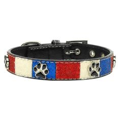 Mirage Pet Products Patriotic Ice Cream Paws Dog Collars -- Read more reviews of the product by visiting the link on the image.