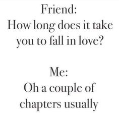 A couple of chapters.