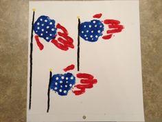 Hand Print Flags