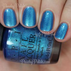 OPI I Sea You Wear OPI | Summer 2015 Brights Collection | Peachy Polish | www.ScarlettAvery.com
