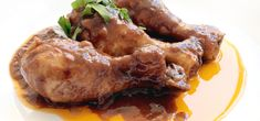 Pollo+a+la+coca-cola Mole, Sin Gluten, Chicken Wings, Chicken Recipes, Bbq, Food And Drink, Yummy Food, Cooking, Dishes