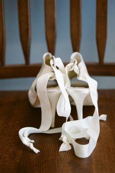 Door County, Wisconsin Wedding from Emily Steffen Photography White Wedding Shoes, Cute Wedding Dress, Wedding Heels, Colored Wedding Dresses, Wedding Coordinator, Wedding Events, Our Wedding, Dream Wedding, Weddings