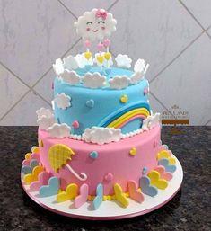 New cupcakes decoration for girls valentines 64 ideas Baby Cakes, Baby Shower Cakes, Girl Cakes, Birday Cake, No Bake Cake, Baby Girl Birthday Cake, First Birthday Cakes, Gluten Free Cupcake Recipe, Elegant Birthday Cakes