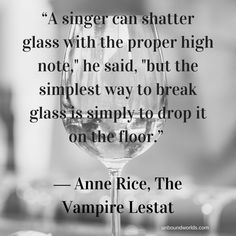 5 Preternatural Quotes from Anne Rice's The Vampire Lestat Literature Quotes, Book Quotes, Vampire Books, Vampire Quotes, Southern Gothic Literature, Dracula Quotes, Quote Finder, Teeth Quotes, The Vampire Chronicles