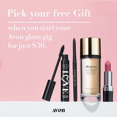 Join the Avon Nation and cash in on your passion. Because when you start your own business and sell Avon, you earn doing what you love. Work from home and earn up to selling Avon anywhere – part-time or full-time in sweats or stilettos. Get started now! Anew Ultimate, Avon Care, Avon Brochure, Avon Online, Make Beauty, Avon Representative, Be Your Own Boss, Starting Your Own Business, Medium