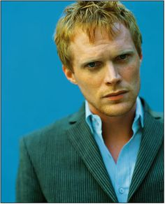 Paul Bettany - Voice of JARVIS (Iron Man, Avengers) , Chaucer in A Knights Tale!