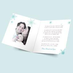 Weihnachtskarten: Schneeflöckchen online selbst gestalten und günstig bestellen und drucken lasse