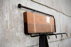 Wall Rack - Moonshine Wood & Steel