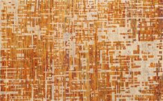 Celosia Orange Rug  | Crate.....done the right way this could be lovely :)