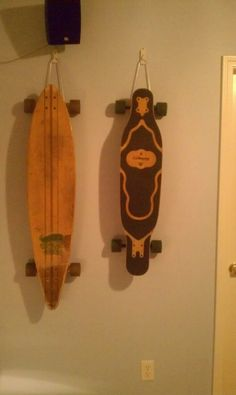 I've been looking for a Longboard/skate board storage solution...