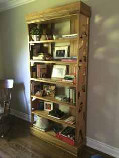 Willow Leaf Cut Out Bookcase.