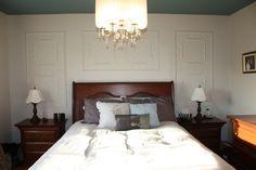 Chambre à coucher réaliser par une de nos designer! décoration, venez nous voir pour de nouveaux projets. Le jardin d'Andrée-Anne, www.lejardin.ca Furniture, Home Decor, Decor, Bed