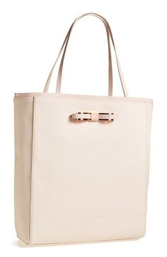 If it has a bow on it, I probably will buy it.  Ted Baker 'Bow' Shopper available at #Nordstrom