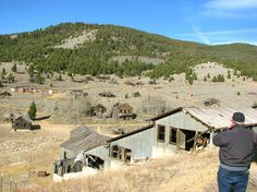 I've explored this ghost town from the 1700s.its just a place you find in the mountains.