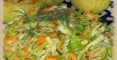 Risotto, Polish Recipes, Polish Food, Soup And Salad, Salad Recipes, Side Dishes, Cabbage, Recipies, Dinner