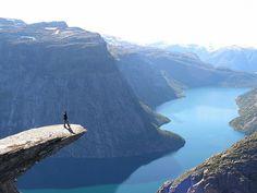 Trolltunga Norway.