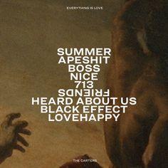 Beyoncé: EVERYTHING IS LOVE
