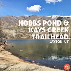 Kays Creek Trail | Adventurin' | Layton | The Salt Project | Things to do in Utah with kids