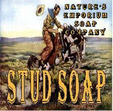 Stud Soap ~ Natural and Rough!