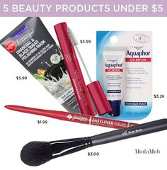 Go Ahead, Buy All These Beauty Products Under $5 | Modamob