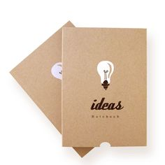 Ideas Blank Notebook by Ask Alice. Perfect for an idea journal :)