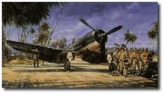 AVIATION ART HANGAR - Black Sheep Squadron by John Shaw