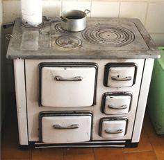 antique cast iron stove