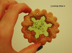 Biscuits vitraux pour Noël
