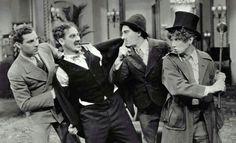 The Cocoanuts - Zeppo, Groucho, Chico and Harpo