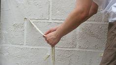 Faux mur de pierre 1