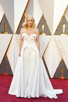 Lady Gaga Wearing A Custom Brandon Maxwell Dress Serena Ayala Best Red Carpet Looks