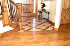 Kitchen. tile and wood floor: Fascinating Images About Wood Floors ...