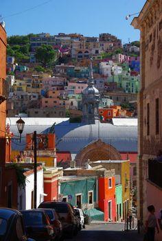 Guanajuato, Mexico its pretty and colorful