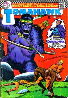 Cover for Tomahawk (DC, 1950 series) #107